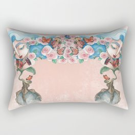 Queen of flowers Rectangular Pillow