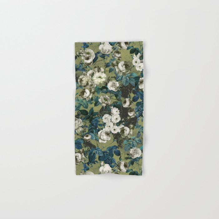 Midnight Garden Hand & Bath Towel