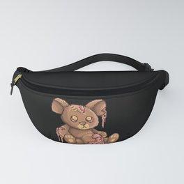 Teddy Bear Zombie Horror Fanny Pack