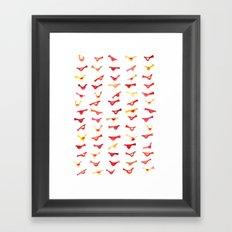 An Army of Undisciplined Birds Framed Art Print