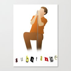 substance Canvas Print