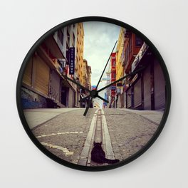 The Cat and Istanbul Wall Clock