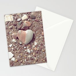 Heart on the Beach Stationery Cards