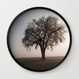 Solitude Frost Wall Clock