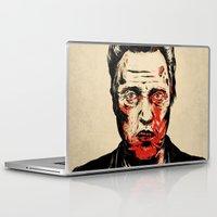 christopher walken Laptop & iPad Skins featuring Walken Dead by Chase Kunz