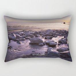 Rocky Sunset Rectangular Pillow