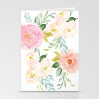 Stationery Cards featuring Floral 02 by creative index