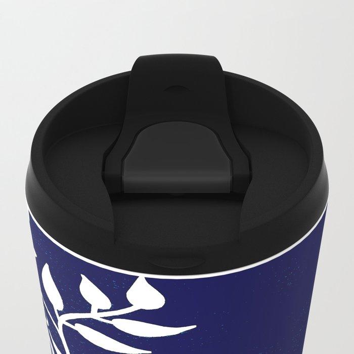 Denim Metal Travel Mug