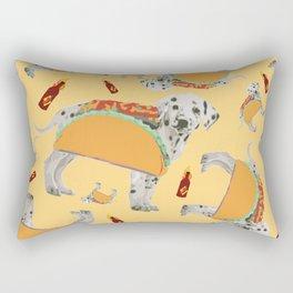Taco Dog Rectangular Pillow