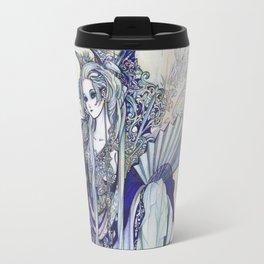 Madame Blue Travel Mug