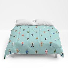 Mixjam characters pattern Comforters