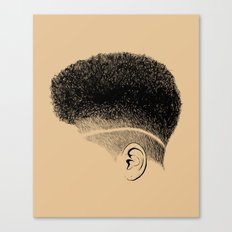 Crown: High-top Fade Canvas Print