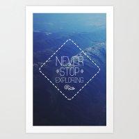 tote Art Prints featuring tote by Jamie de Leeuw