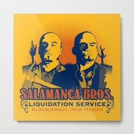 Salamanca Brothers Metal Print