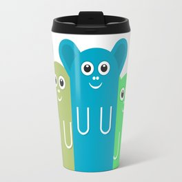 Little  Meerkat #society6 #decor #buyart #artprint Travel Mug