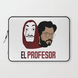 LA CASA DE PAPEL tee shirt El Peofesor Laptop Sleeve
