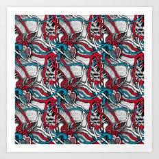 Vessels  Art Print