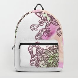 42 // Abstract 9 March 2017   | Abstract Shapes Art Colour Backpack