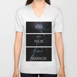 Soul, Pulse, Warrior Unisex V-Neck