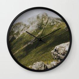 Summer days on the Franconia Ridge Wall Clock