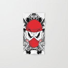 Ltd Edition: pirate skull art Hand & Bath Towel