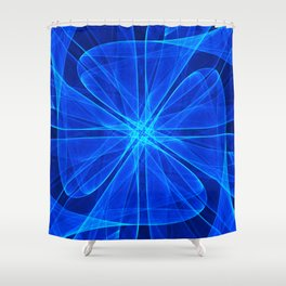 Tulles Propeller Computer Art Shower Curtain