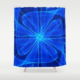 Tulles Propeller Computer Art Shower Curtain