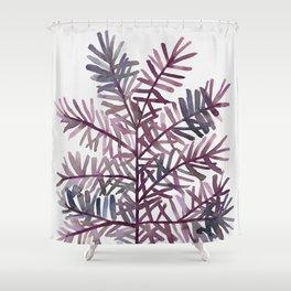 Watercolor Coastal Art II Shower Curtain