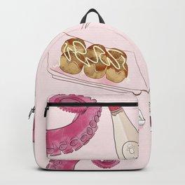 Takoyaki Pattern Backpack