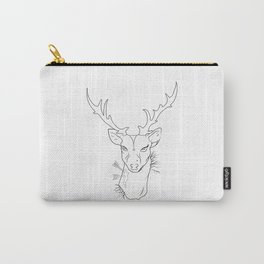 hipster dear Carry-All Pouch