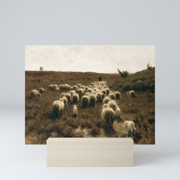 The Return of the Flock, Laren by Anton Mauve Mini Art Print
