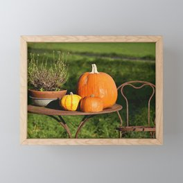 Fall Time (Painting) Framed Mini Art Print