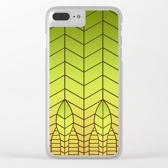 LET THERE BE LIGHT (abstract geometric) Clear iPhone Case