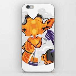 GIRAFFE MECH STICKER - VAPORZOO iPhone Skin