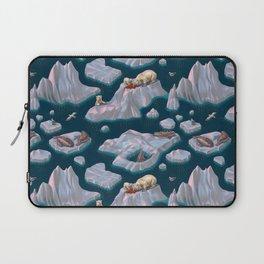 Icebergs Laptop Sleeve