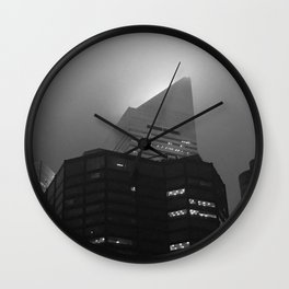Citigroup Center in Fog Wall Clock
