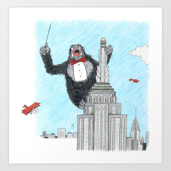 Maestro Kong Art Print