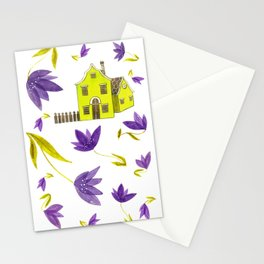 Crocus flowers Stationery Cards