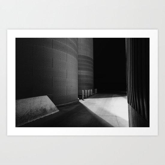 Loneliness.... Art Print