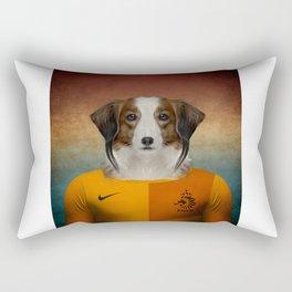 Worldcup 2014 : The Netherlands - Kooiker Hound Rectangular Pillow