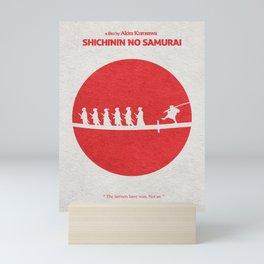 Seven Samurai Mini Art Print