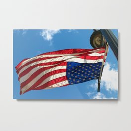 The Upside Down American Metal Print