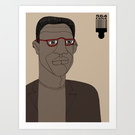 1001 Black Men--#564 Art Print