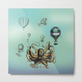 Everyone Loves Balloons Metal Print