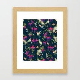 The Honey Eaters Framed Art Print