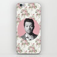 castiel iPhone & iPod Skins featuring CASTIEL by Hands in the Sky