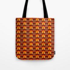 Woven Pixels I Tote Bag
