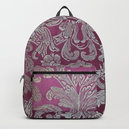 Vintage Venice - Flower Pattern Backpack