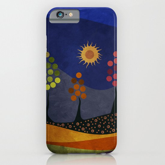 Paisaje y color iPhone & iPod Case