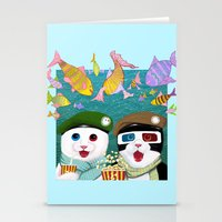 3d Stationery Cards featuring 3D by Tummeow